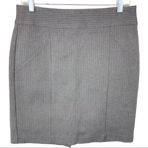 Banana Republic Stretch Herringbone Pencil Skirt